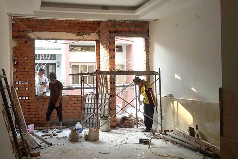 cải tạo nhà cũ thành mới 12