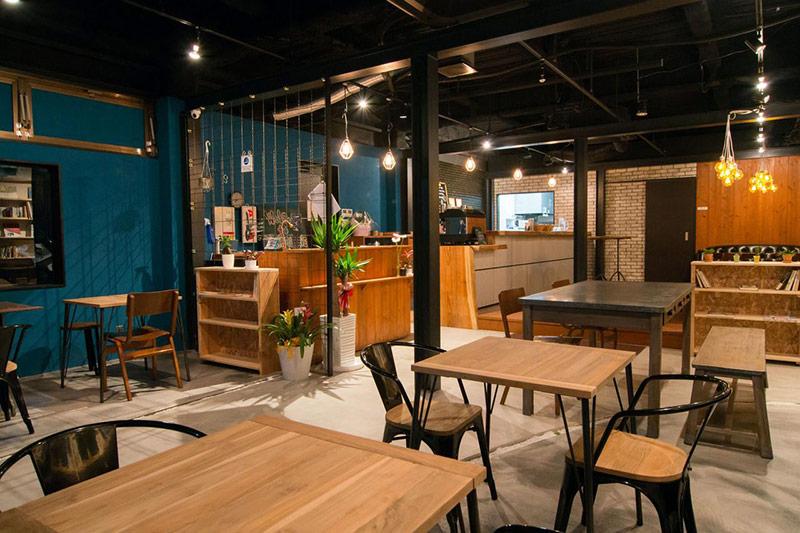 cải tạo nhà cũ thành quán cafe 7