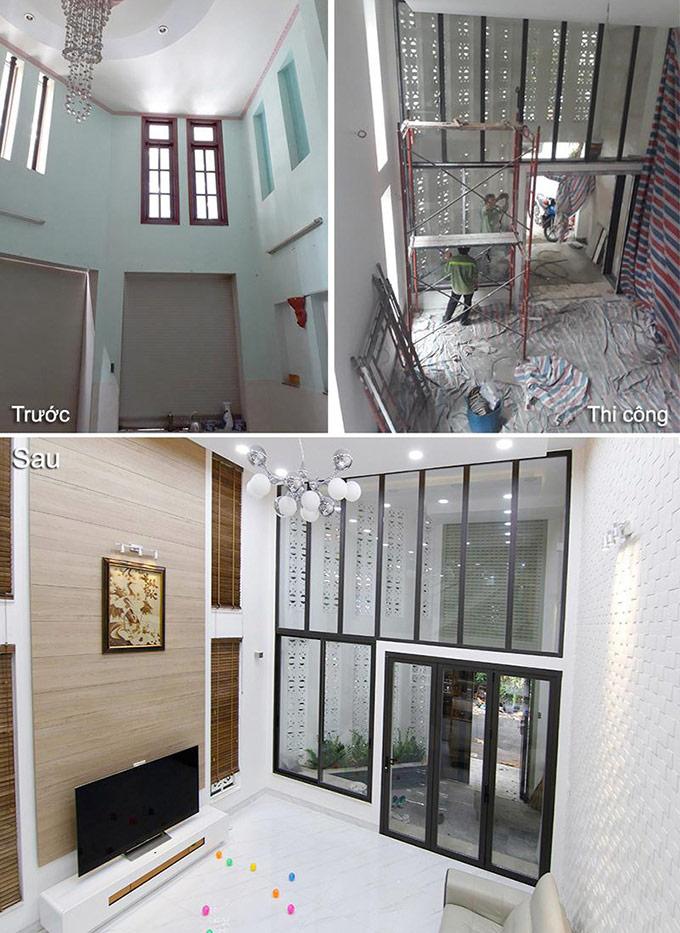 nhà đẹp sau cải tạo