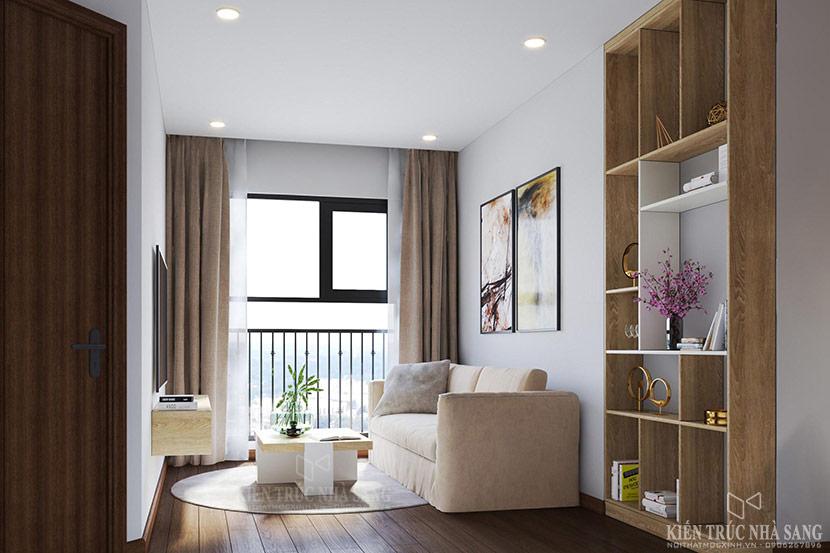 nội thất phòng khách căn hộ chung cư the emerald 1