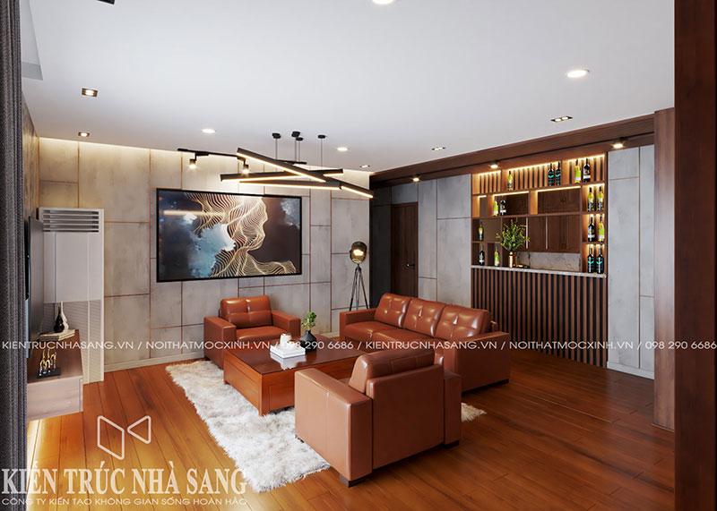 thi công cải tạo nội thất căn hộ chung cư tại Hà Nội