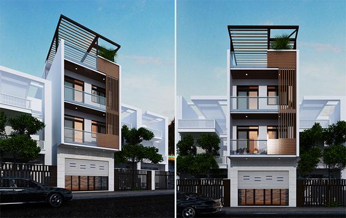 thiết kế cải tạo nhà phố 3