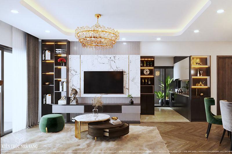 thiết kế thi công nội thất trọn gói luxurt sang trọng tinh tế