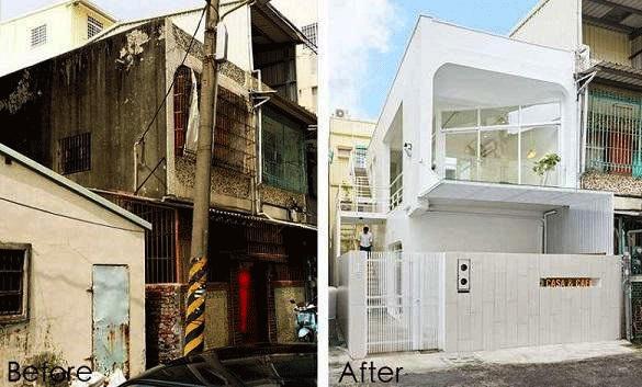 cải tạo nhà cũ 2 tầng