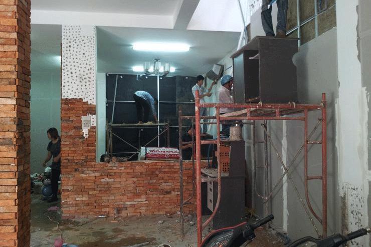 cải tạo nhà cũ giá 2