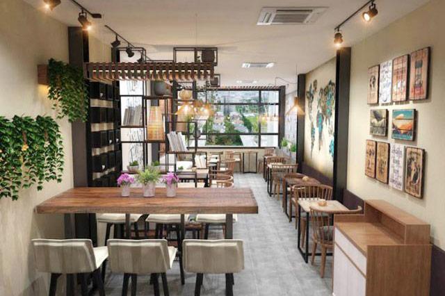 cải tạo nhà cũ thành quán cafe 3