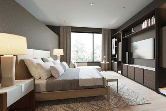 mẫu giường gỗ công nghiệp đẹp 1