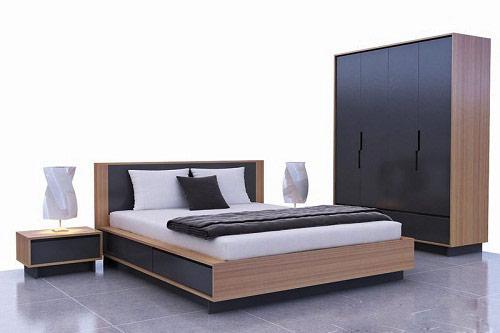 mẫu giường gỗ công nghiệp đẹp 10