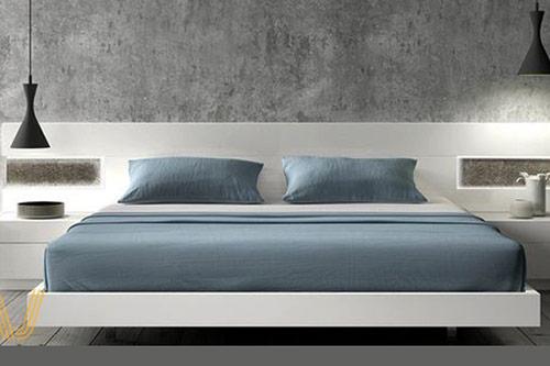 mẫu giường gỗ công nghiệp đẹp 12