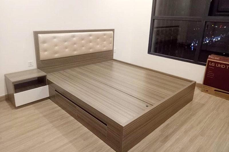 mẫu giường gỗ công nghiệp đẹp 13