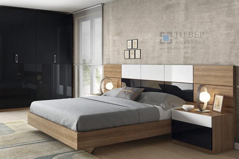 mẫu giường gỗ công nghiệp đẹp 14