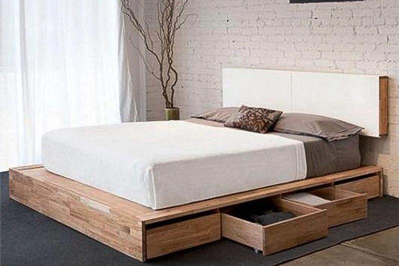 mẫu giường gỗ công nghiệp đẹp 15
