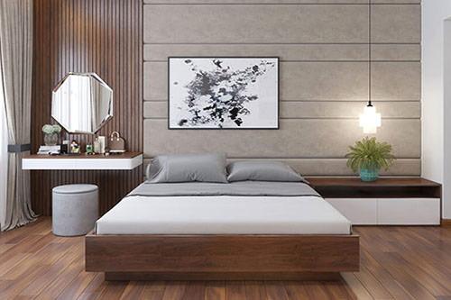 mẫu giường gỗ công nghiệp đẹp 4