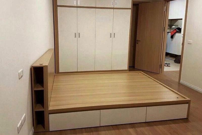 mẫu giường gỗ công nghiệp đẹp 7