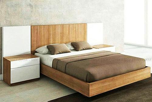 mẫu giường gỗ công nghiệp đẹp 9