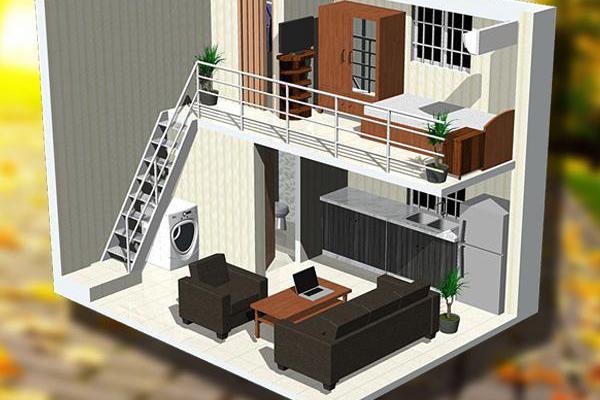 cải tạo nhà 1 tầng thành 2 tầng