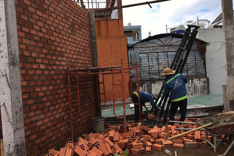 cải tạo nâng tầng nhà phố 1