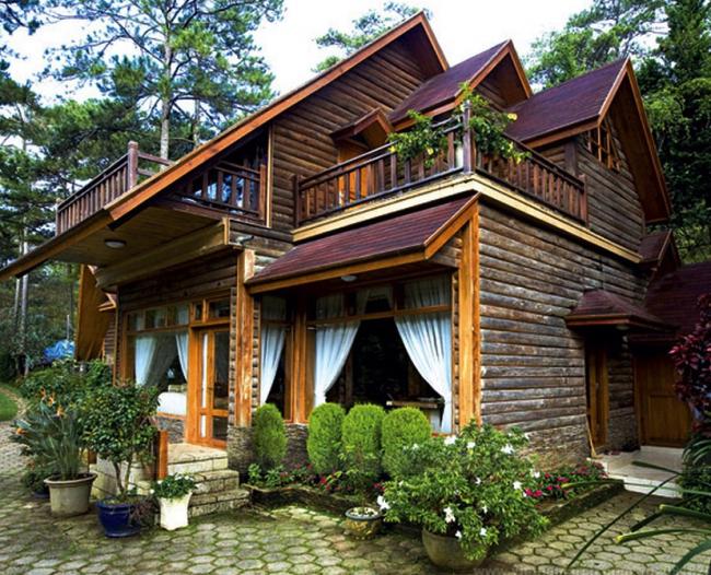 cải tạo nhà gỗ cũ 4