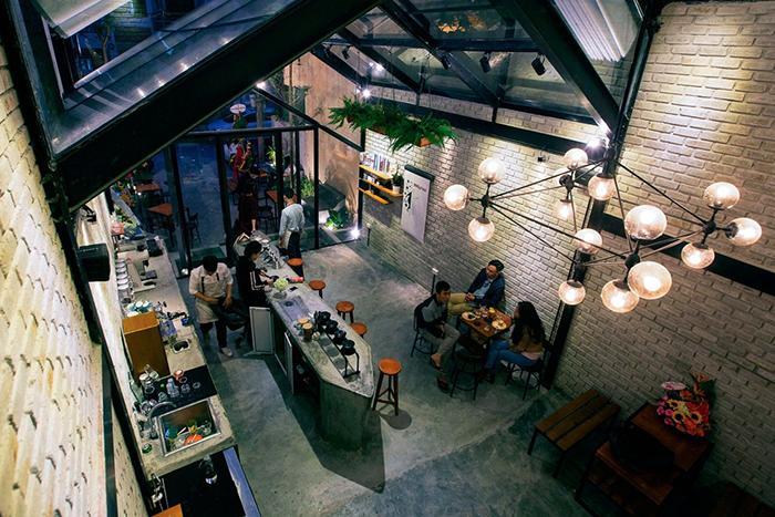 cải tạo quán cafe nhà phố 2