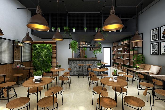 cải tạo quán cafe nhà phố 3