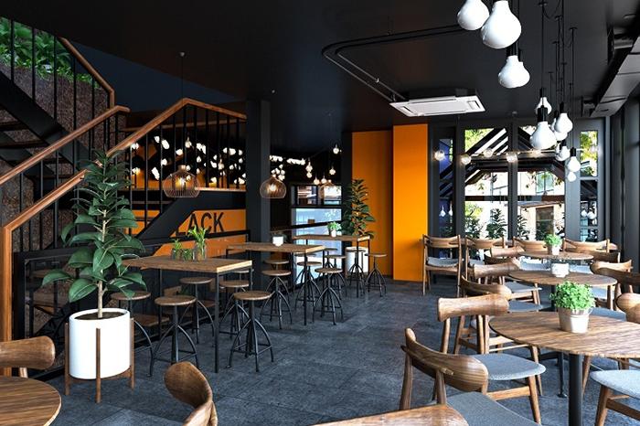 cải tạo quán cafe nhà phố 4
