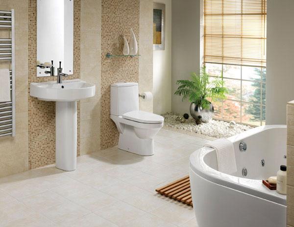 các thiết bị nhà tắm hiện đại