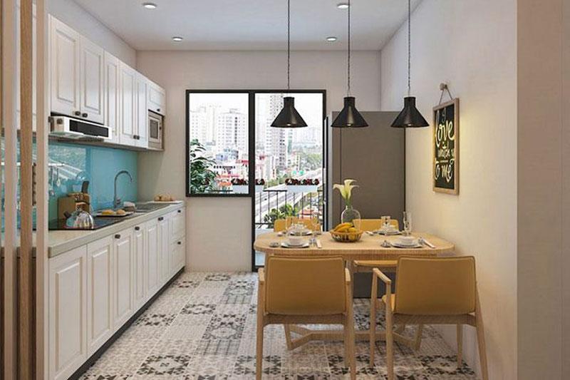 cải tạo không gian bếp ăn