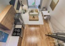 cải tạo không gian phòng khách chung cư