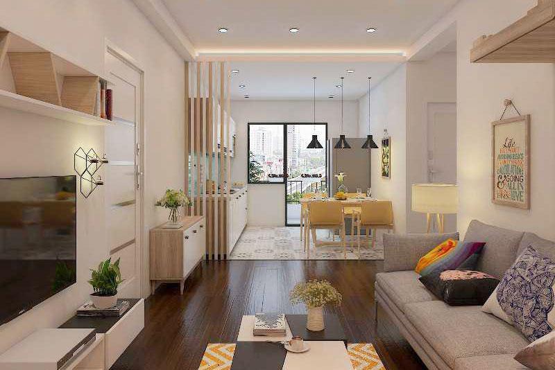 cải tạo nhà chung cư đẹp hiện đại