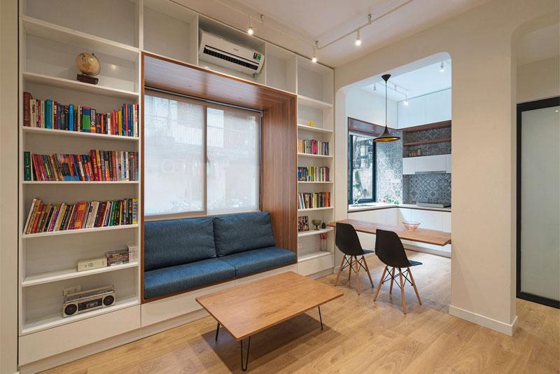 cải tạo nhà chung cư đẹp tiết kiệm chi phí