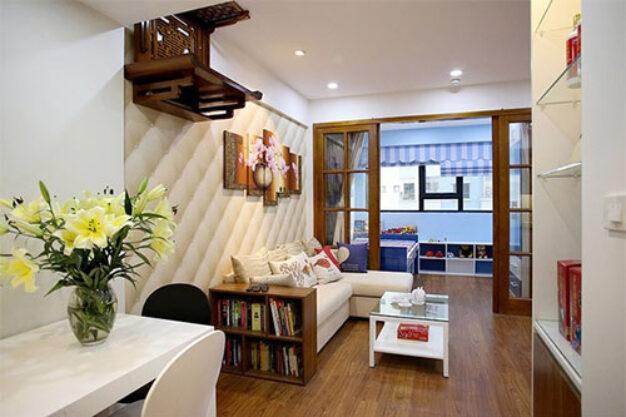 cải tạo nhà chung cư thêm tịn nghi hơn