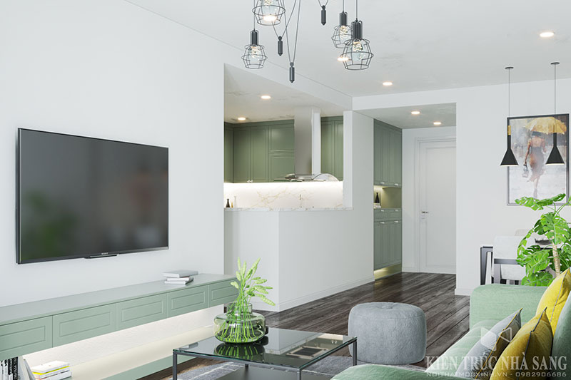 nội thất màu sắc đơn giản tinh tế và hiện đại