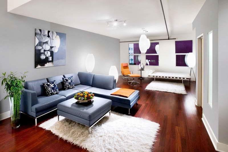 phòng khách hiện đại rộng rãi