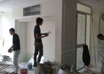 tận dụng tường hiện trạng để tiết kiệm chi phí cải tạo