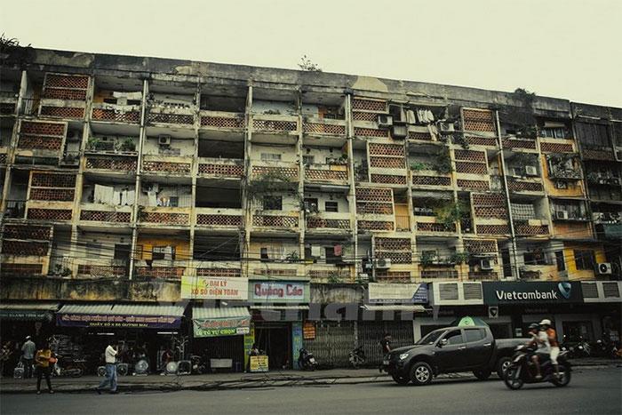 cải tạo nhà chung cư cũ tại Hà Nội