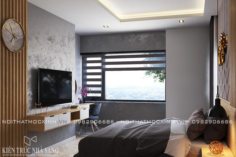 thi công nội thất trọn gói căn hộ chung cư 3 phòng ngủ hiện đại N03T7 khu ngoại giao đoàn