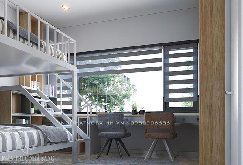 thiết kế phòng ngủ trẻ em đầy đủ tiện nghi N03T7