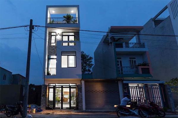 hoàn thiện nhà phố hiện đại