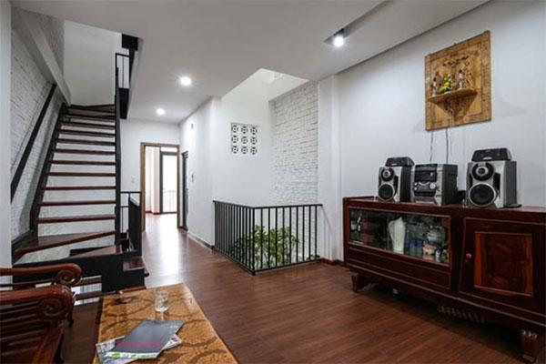 hoàn thiện nội thất bên trong căn nhà phố