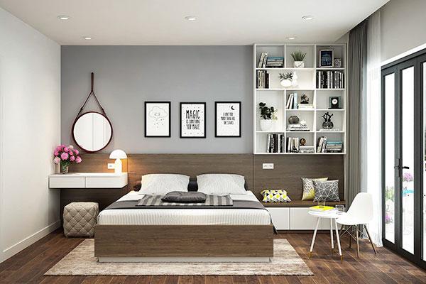 hoàn thiện nội thất phòng ngủ nhà phố