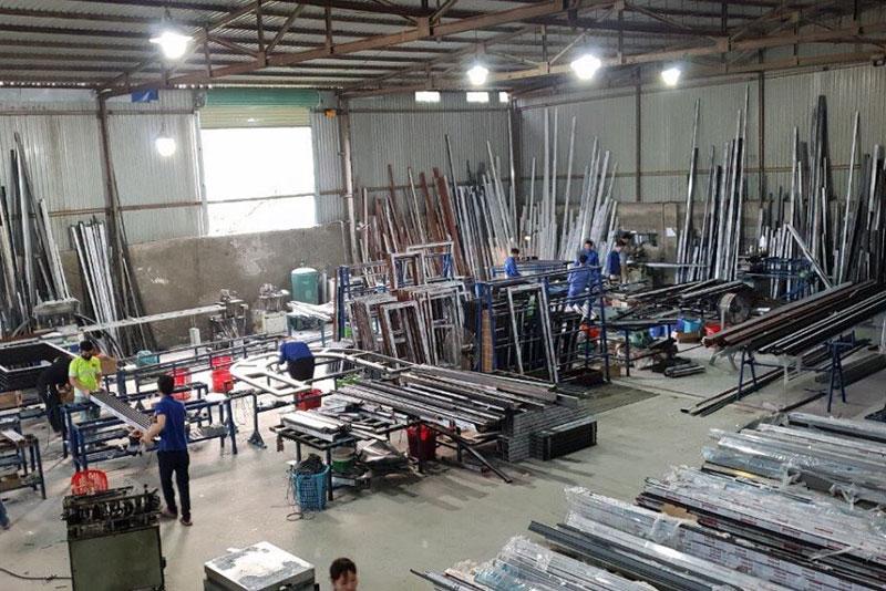 xưởng sản xuât nhôm kính xingfa