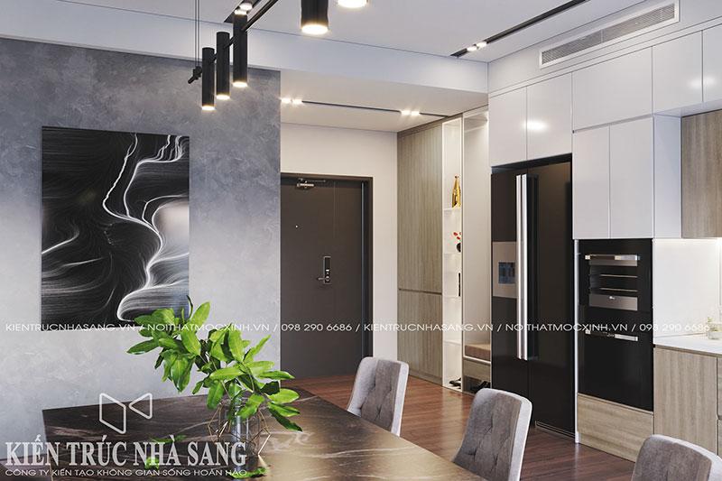 thiết kế không gian sảnh chung cư cao cấp imperia