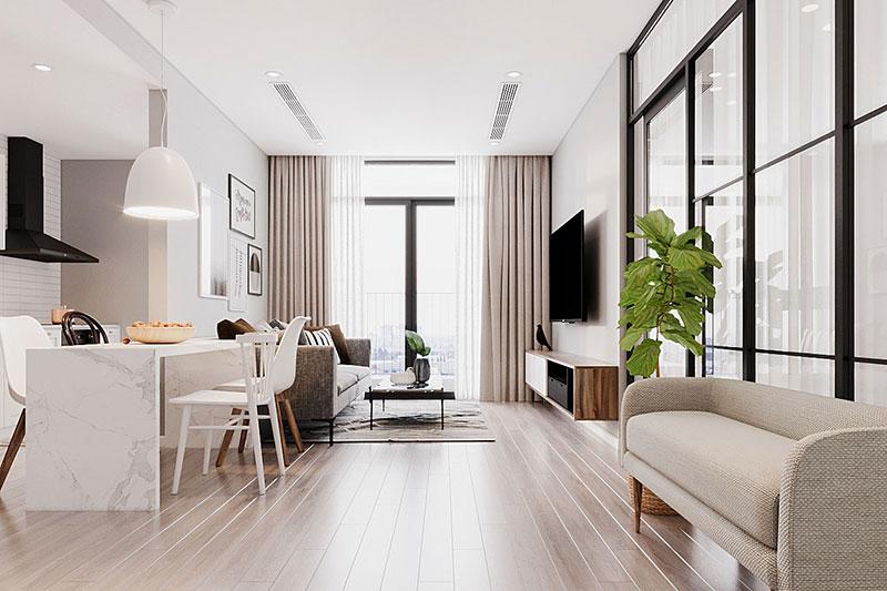 dịch vụ thiết kế nội thất chung cư đơn giản