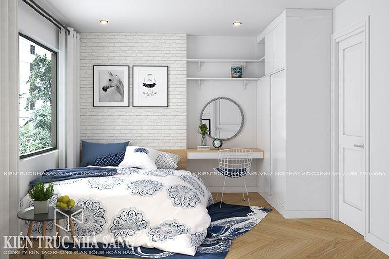 lựa chọn đồ nội thất cần chú ý đến màu sắc và kích thước khi thiết kế nội thất phòng ngủ