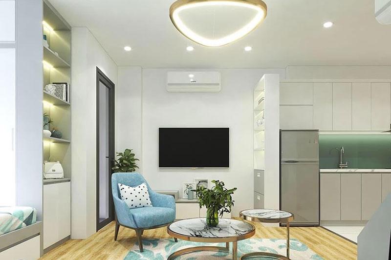 thiết kế nội thất chung cư nhỏ với các không gian linh hoạt
