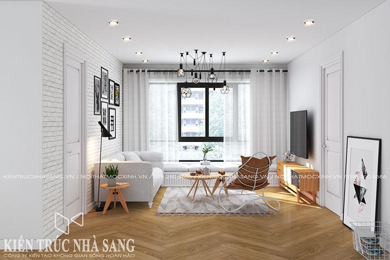 thiết kế nội thất chung cư tạo nên sự khách biệt