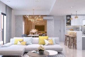 thiết kế nội thất có phong cách hiện đại