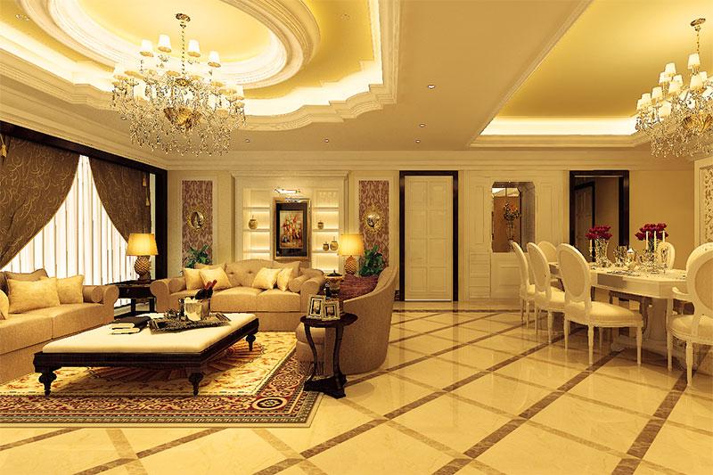 thiết kế nội thất có phong cách tân cổ điển