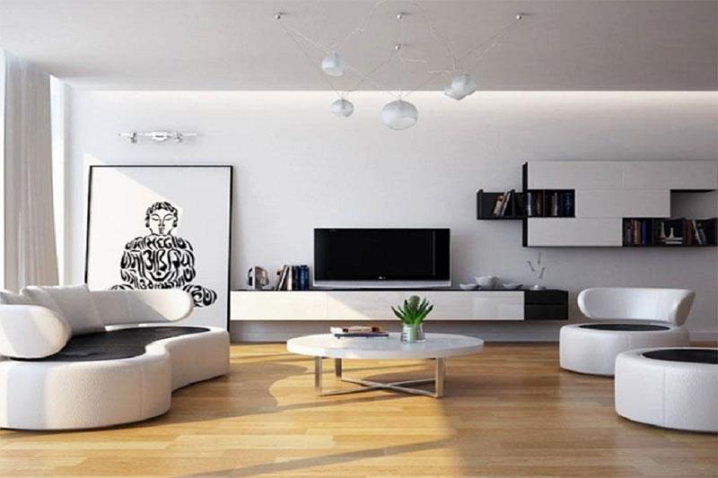 thiết kế nội thất có phong cách tối giản
