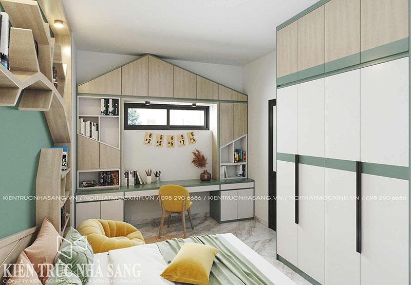 thiết kế nội thất phòng ngủ trẻ em đẹp và tinh tế